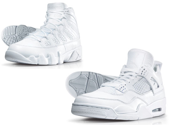 B39e8b Air Jordan All White Collection Nikes Discount All White Air Jordan 4