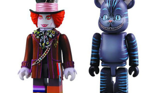 Alice In Wonderland Kubrick & Bearbrick Set