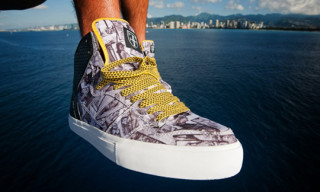 "Fitted Hawaii x Element ""Kaholo"" Sneaker"