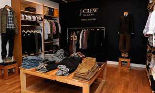 J.Crew Men's Shop-in-Shop at Ron Herman Los Angeles