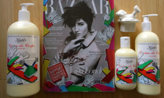 Kaws x Kiehl's Special Edition Figure Bottles | Cover Feature Harper's Bazaar Korea