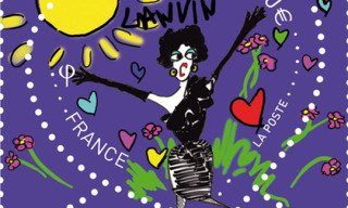 Lanvin 120th Anniversary Stamps for La Poste