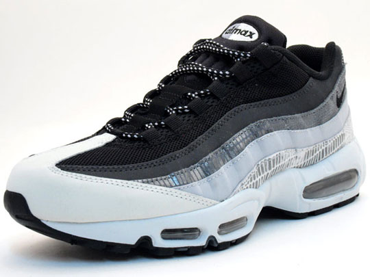 Nike Air Max 95 Black Grey White Running Shoes