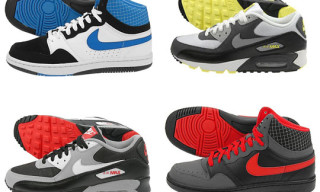 Nike Holiday 2009 Releases | Court Force Hi and Air Max 90