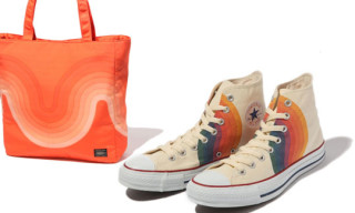 Verner Panton x Converse and Porter