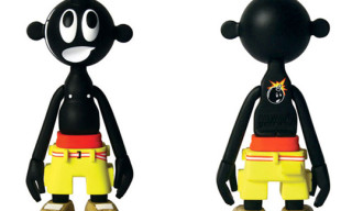 The Hundreds x Michael Lau Limited Black Colorway Toy