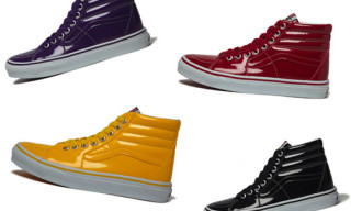 Vans Sk8 Hi Tonal Patent Leather Pack
