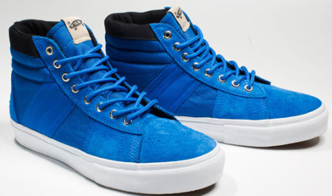 ef1262d0ac We get a first look at the Spring 2010 Vans Sk8 Hi Standard Issue LX. Based on  the silhouette of the classic Sk8 Hi