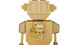 Highsnobiety x Wemoto Card Board Robot Give-Away
