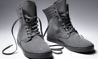 KR3W Footwear – Grey Canvas Series