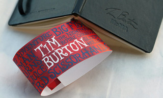 MoMA x Tim Burton x Moleskine Notebook