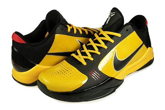 Nike Zoom Kobe V Basketball Shoes Bruce Lee  3128529