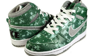 "Nike Big Nike High ""Green Splatter"""
