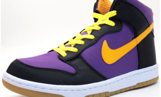 Nike Dunk Hi Supreme Lakers