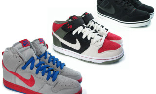 Nike SB Spring 2010 Releases | Dunk Hi, Dunk Mid, P-Rod 2.5
