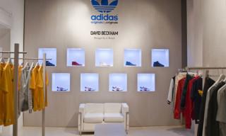 adidas Originals by Originals Spring/Summer 2010 David Beckham by James Bond Shop-In-Shop at 10 Corso Como