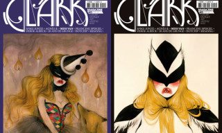 Clark Magazine Issue 40 featuring Miss Van Cover Art