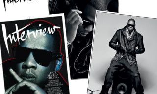 Jay-Z in Interview Magazine February 2010