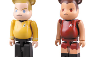 "Medicom x Star Trek ""James T- Kirk & Uhura"" Bearbrick Set"