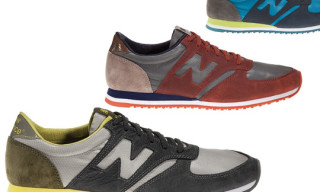 New Balance Spring 2010 Suede/Nylon 420 Pack
