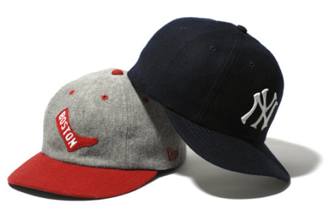 New Era Japan have just released their new 8 panel BB cap collection – a  throwback style wool cap in New York Yankees and Boston Red Socks options. 698b4a46f
