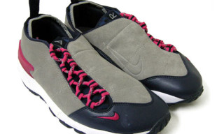 Nike Spring 2010 Air Footscape Leather Grey/Navy/Pink