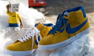 """Nike Blazer Hi SB """"Gold Leaf"""""""