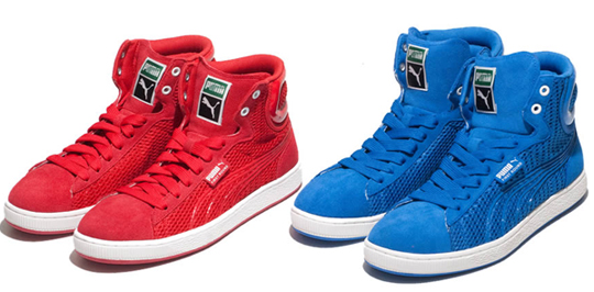 puma high top sneakers