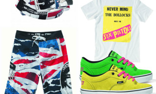 Vans x Rowley Spring 2010 Sex Pistols Collection