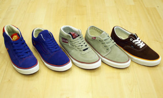 Vans Spring 2010 City Packs – Barcelona, Philly, San Diego