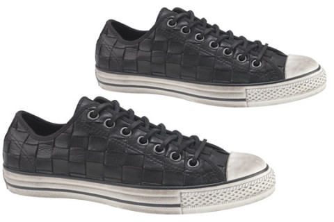 "MAJOR takes stock in a nice pair of Chucks from the JV line. ""Woven and  burnished leathers and suede d3f190f82df5"