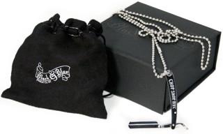 Frank's Chop Shop x Black & Blue Razor Pendant