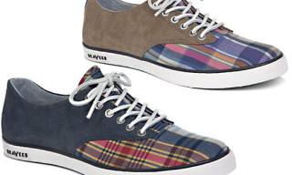 Gitman Brothers for SeaVees Bleeding Madras Plimsoll