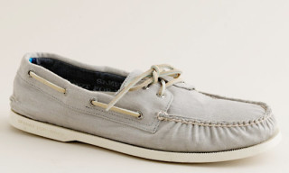 J. Crew x Sperry Top-Sider Broken-In Chino Boat Shoes