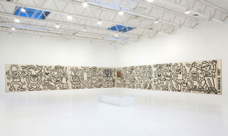 Keith Haring's 1985 Mural for SOMACC SF @ Deitch Projects NYC