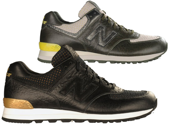 new balance leather 574 sold