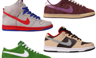 Nike SB March 2010 Footwear – Classic, Dunk Hi, Dunk Low, Bruin