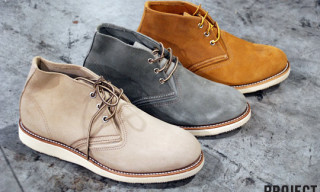 Project LV | Red Wing Fall/Winter 2010 Work Chukka Preview