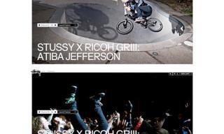 Stussy x Ricoh GRIII: Artist Project – Atiba Jefferson & Angela Boatwright