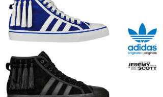 "adidas Originals by Originals Jeremy Scott Nizza Hi ""Tassles"""