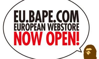 Bape Opens European Webstore