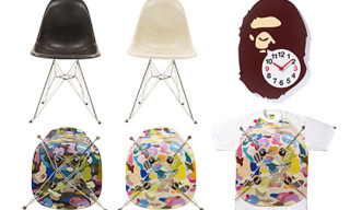 Bape Study Exhibition Product – Chairs, Clocks, T-Shirts