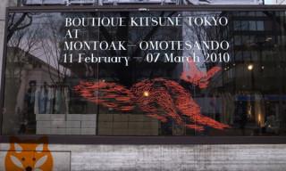 Boutique Kitsuné Tokyo at Montoak Opens