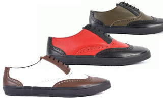 Comme des Garcons HOMME PLUS Spring/Summer 2010 Wing Tip Sneakers