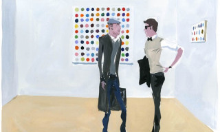 """Damien Hirst's """"End of an Era"""" by The Unknown Hipster"""
