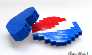 Dee + Ricky x Pepsi Lego Pop Pins