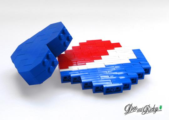 Dee Ricky X Pepsi Lego Pop Pins Highsnobiety
