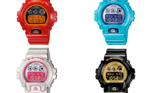G-Shock Spring 2010 Crazy Colors Collection