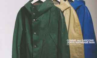 Junya Watanabe Comme des Garcons MAN x Mackintosh Coats
