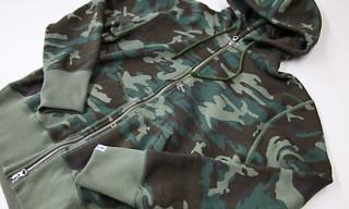 Loopwheeler for Beams+ Camouflage Hoodie